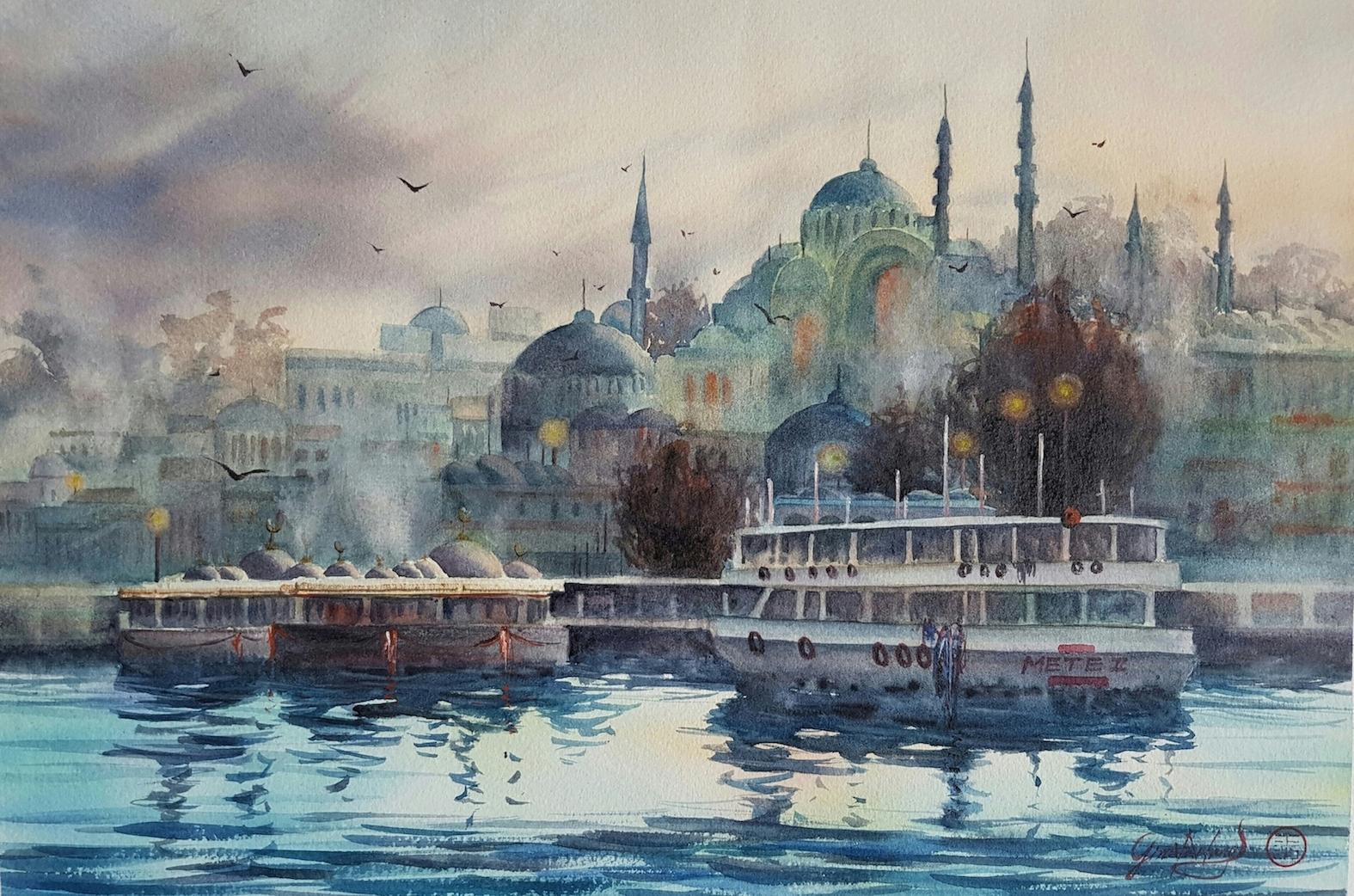 Istanbul Sunset series - Autumn