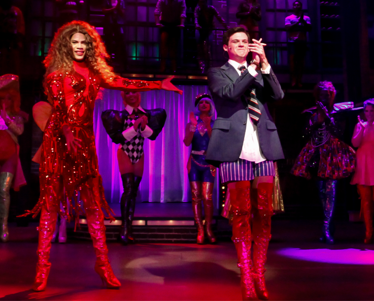 Kinky Boots Lola and Charlie boots