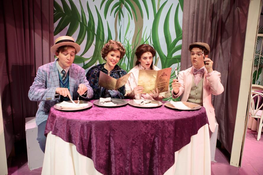 HelloDolly Minnie, Barnaby, Irene, and Cornelius