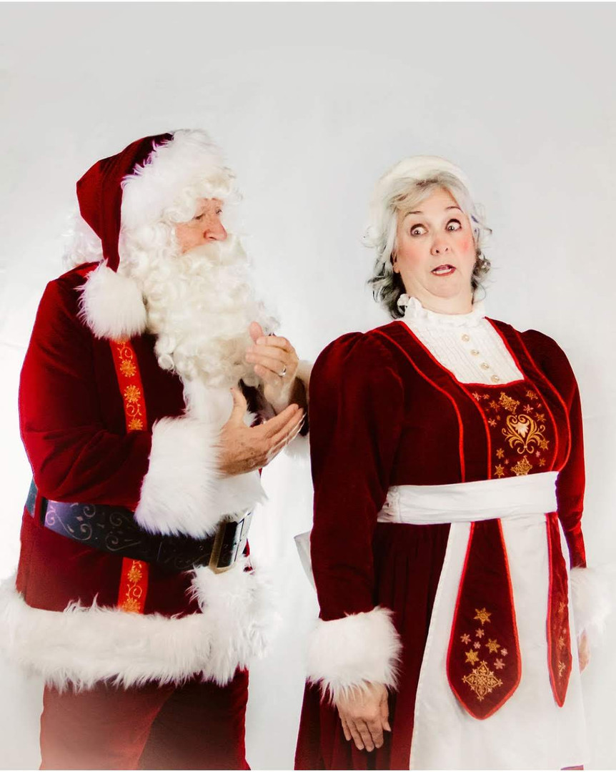 Elf Mr. and Mrs. Claus