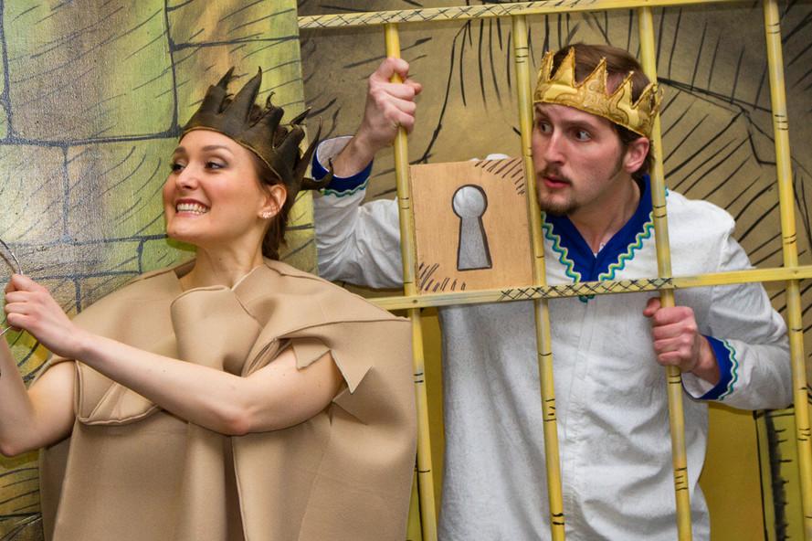 Paperbag Princess Elizabeth & Ronald