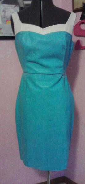 Leather dress commission