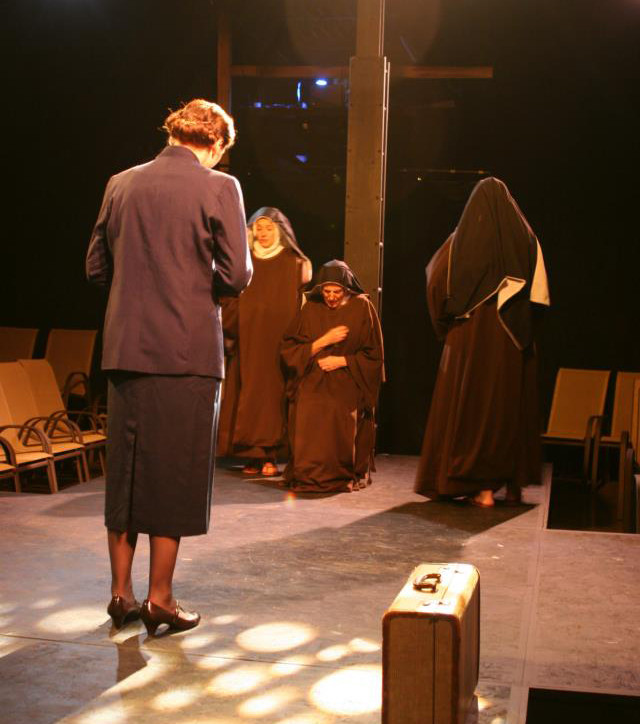 Edith, Sister Prudence, Sister Ruth, and Prioress