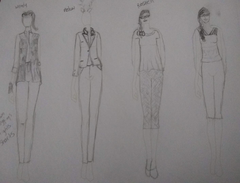 Pencil renderings