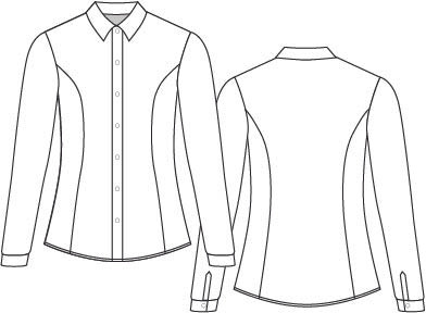 Button down flat with out stiching