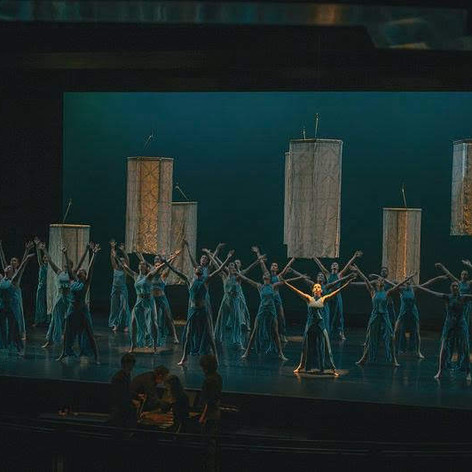 before the Gods had names Asheville Ballet PC Mike Belleme