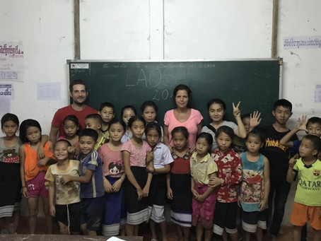 Volunteering as an English teacher in Laos