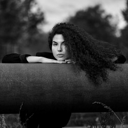 Portrait schwarz/weiß