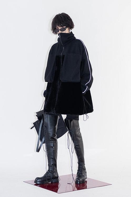 Black Oversized Jacket w/ Pockets