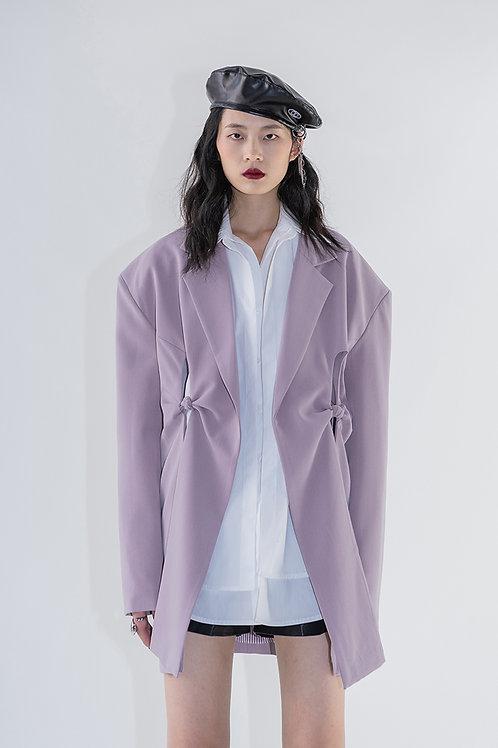 Majestic Purple Bowknots Blazer