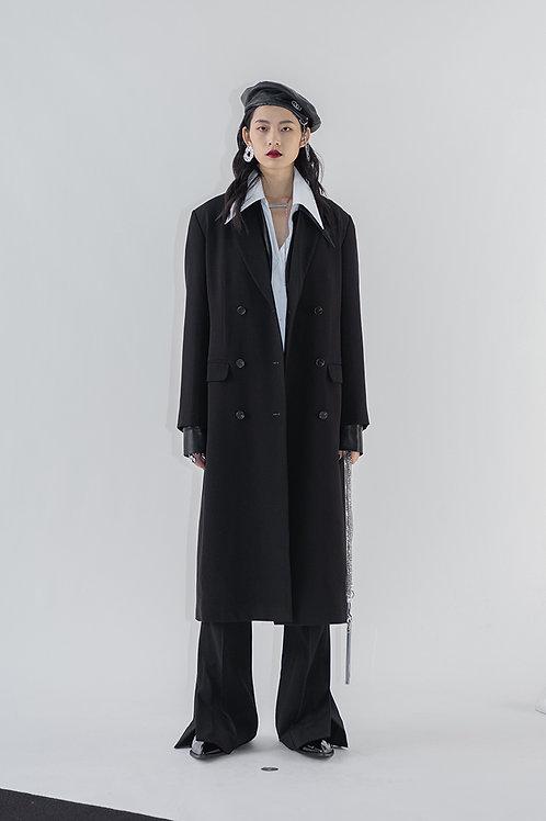Black Long Blazer Jacket