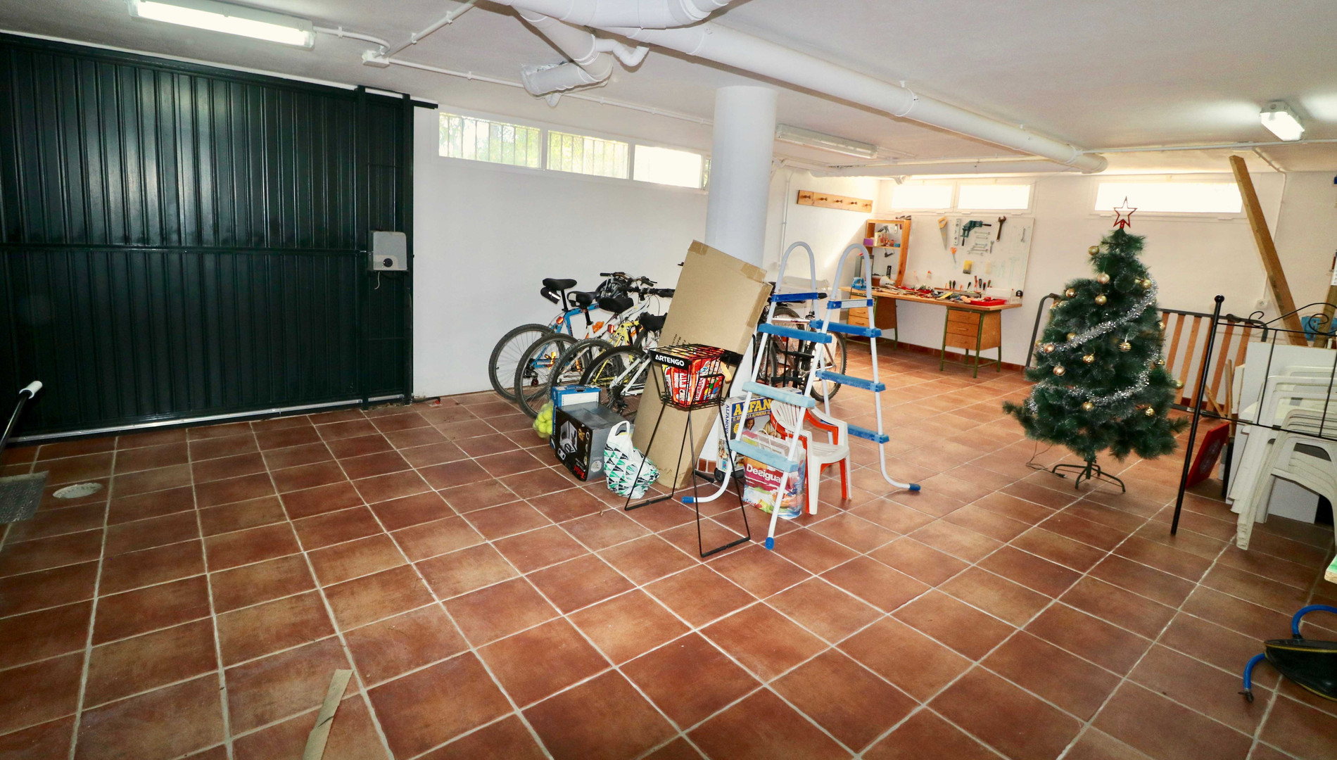 Garage und Abstellraum