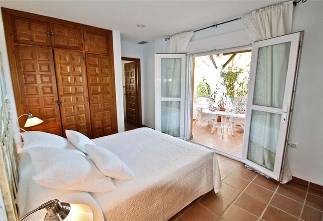 Dormitorio con vistas al Atlantico