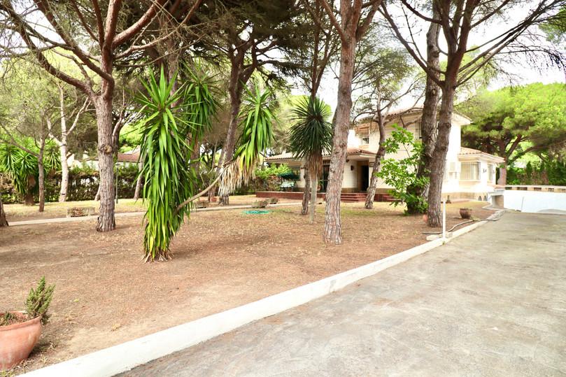 Chalet con jardin espacioso