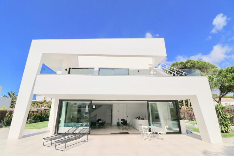 Casa moderna y de lujo