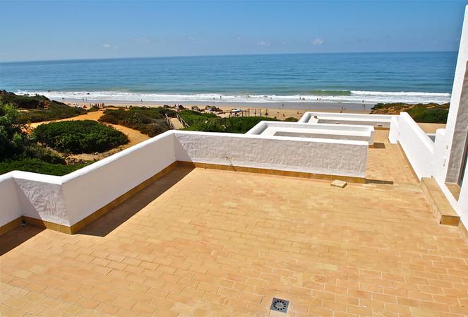 Terrazas con vistas al mar