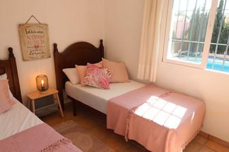 Schlafzimmer mit Betten