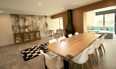 Large living dining room