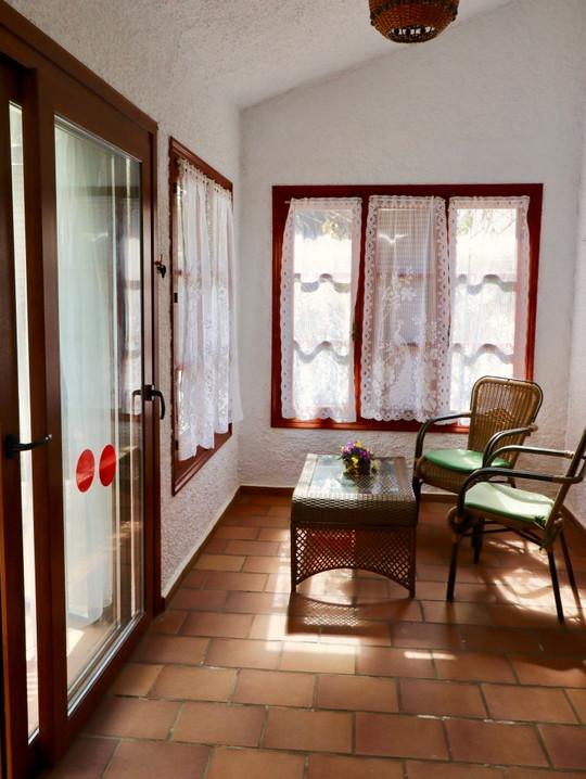 Sala de estar con vistas