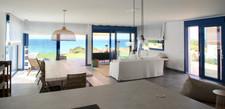 Salon con vistas al mar