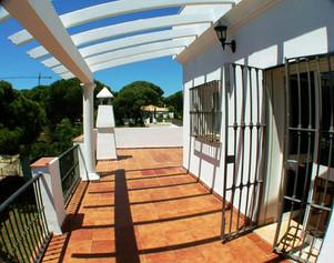 Terraza y solarium