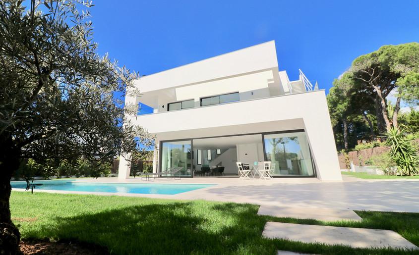 Luxus und modernes Haus