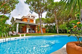 Ferienhaus mit grossem Pool