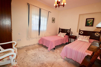 Einzelbetten im Zimmer