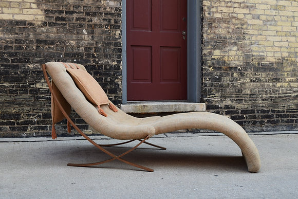 James Dresser Custom Chaise fro Lake Geneva