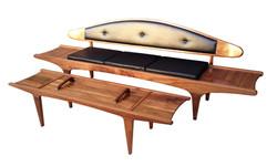 B141 Sofa and coffee table / bench