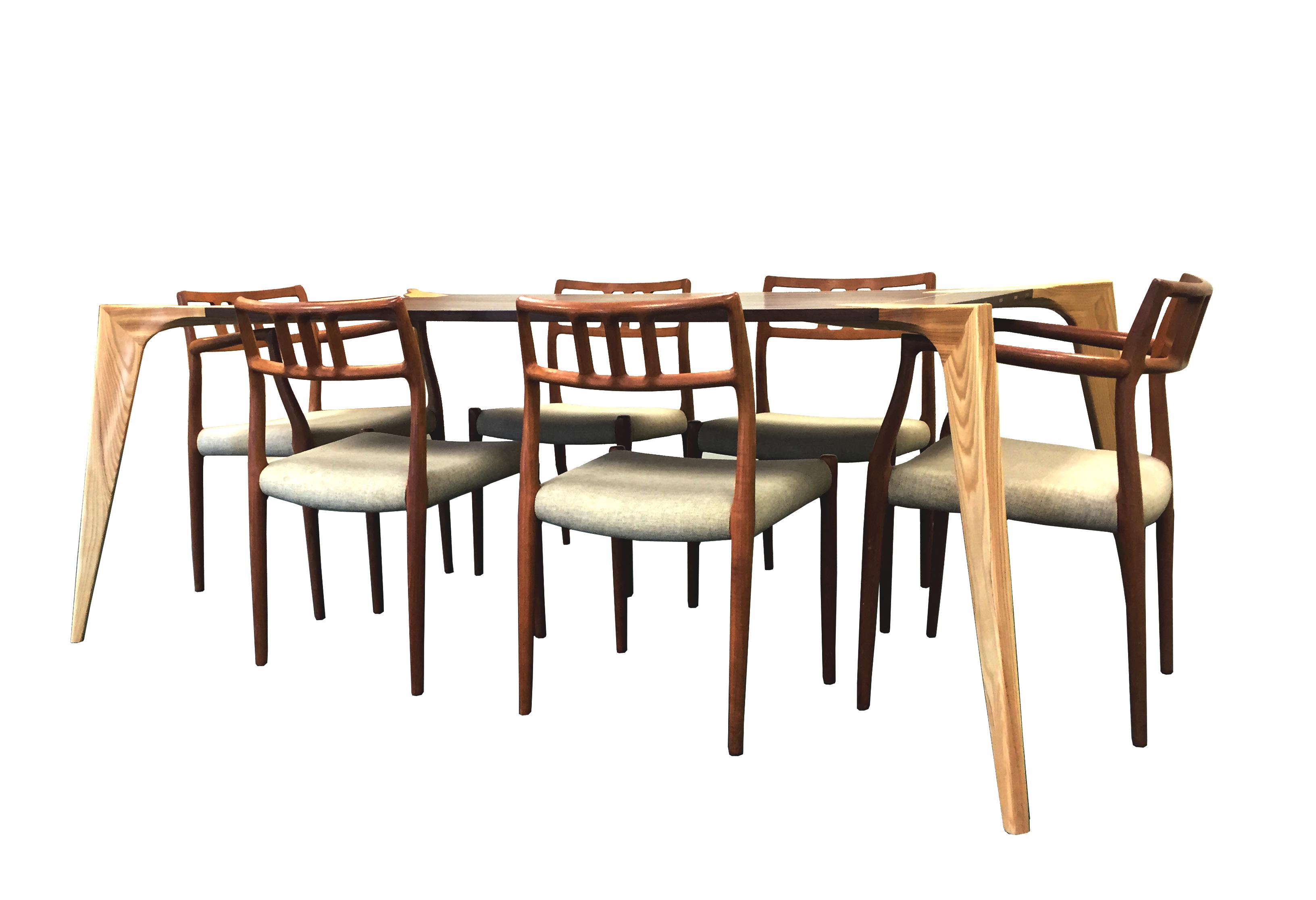 Joint Effort Studio Kipp Table Side Axon w Chairs_F.jpg