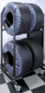 Стойка для хранения шин
