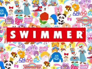 「SWIMMER」ページ公開!!