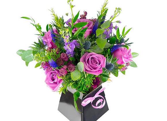 Violet Bloom Bouquet