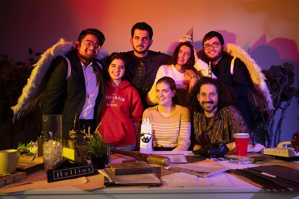Directors Ezgi & Prithwi, DP Francis Franco & Alen Najafi, Sara Dunn (Toni) & Phil Trasolini (Helliot), Rodrigo Ferrat
