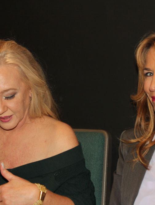Michelle Arthur with SAG Actress Kathleen Randazzo