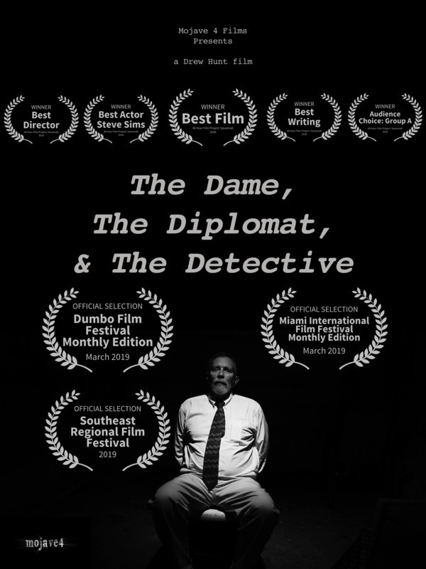The Dame, The Diplomat, & The Detective