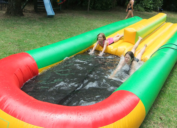 Double Lane Waterslide