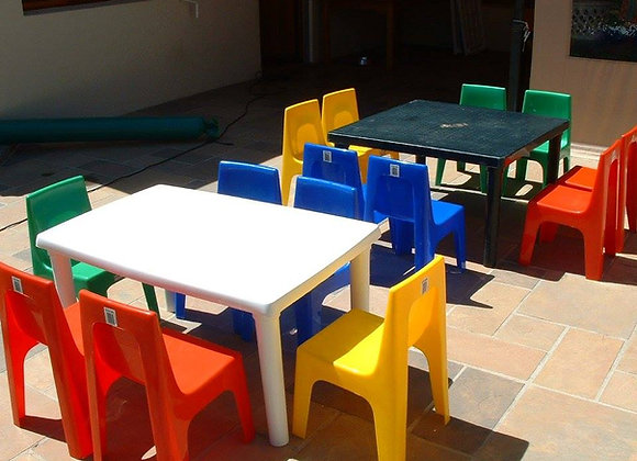Rectangle Table and Chairs