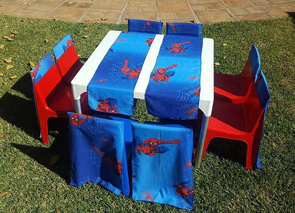 Spiderman Table & Chair Covers