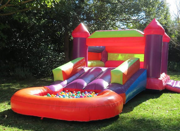 3-in-1 Jump Slide Castle