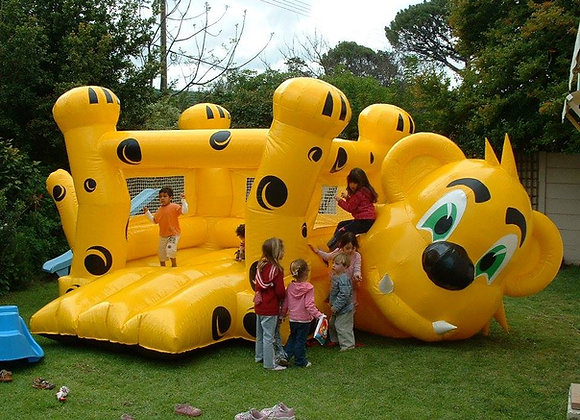 Cheetah Jumping Castle