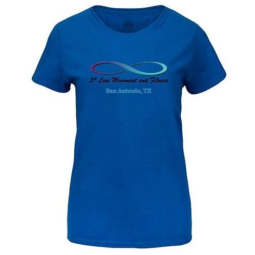Women's Basic  T-Shirt With Full Color Print (Front Only)