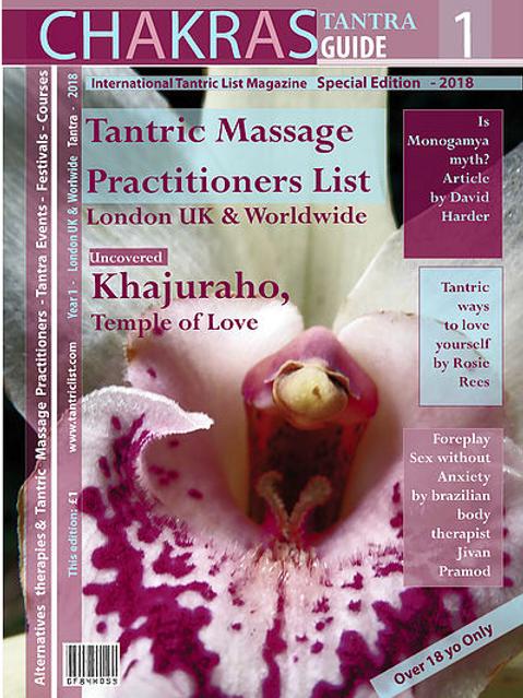 Chakras Magazine - Tantra Guide printed copy