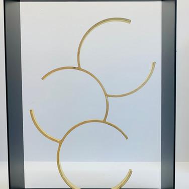 Joël Canat / 3 cercles entr'ouverts