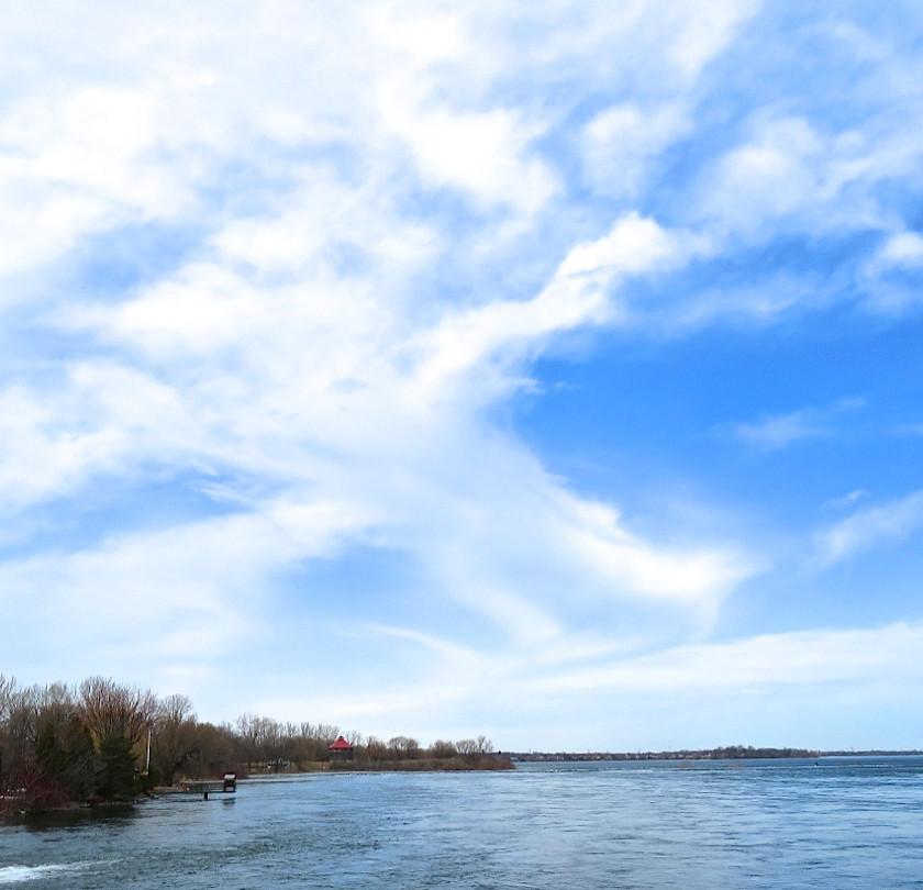 Le fleuve Saint-Laurent