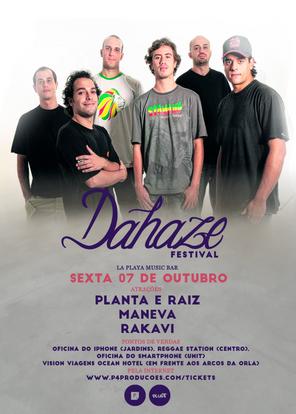 PLANTA E RAIZ NO DAHAZE FESTIVAL!!!