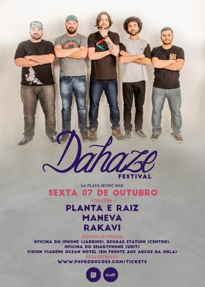 MANEVA CONFIRMADO NO DAHAZE FESTIVAL