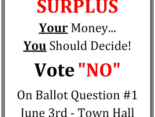 Vote Monday, June 3