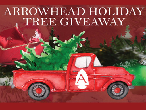 Arrowhead Dental holiday tree give-away